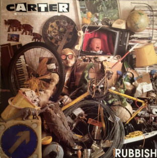 "Carter The Unstoppable Sex Machine - Rubbish (12"") (VG/VG)"